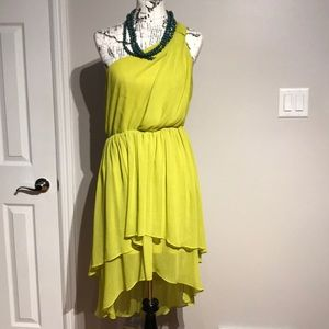 High Low Cocktail Party Casual Fit Flare Dress M